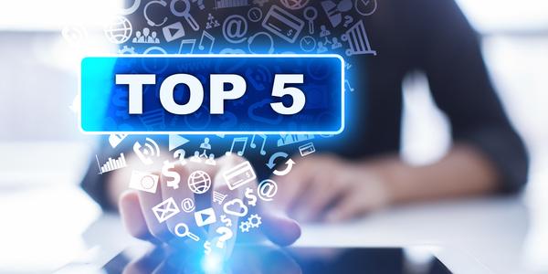 Top 5 om successen en valkuilen te delen